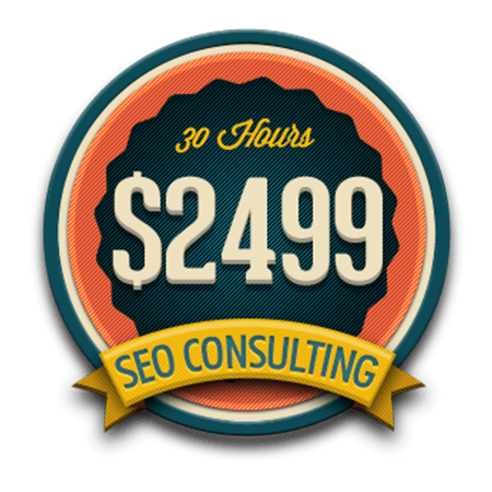 Corporate SEO Consulting Package, $2499 Per Month